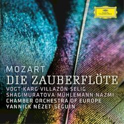 Die Zauberflöte by Mozart ;   Vogt ,   Karg ,   Villazón ,   Selig ,   Shagimuratova ,   Mühlemann ,   Nazmi ,   Chamber Orchestra of Europe ,   Yannick Nézet‐Séguin