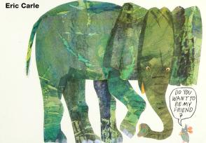 Cover of: Do you want to be my friend? | Eric Carle